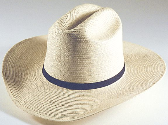 d2b35728 3-1/2 inch brim; Cattleman, Guat Std Palm Hat
